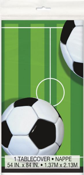 Football Plastic Tablecover